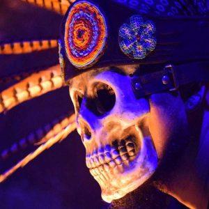 Atuendo de danza prehispanica